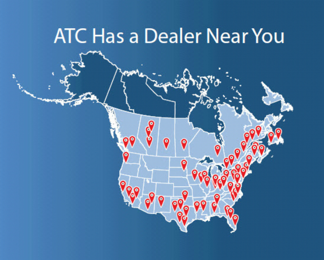 ATC's dealer network, provides coverage in North America, Guam, Hawaii and Puerto Rico, providing you piece of mind and confidence for all your van and truck refrigeration needs.