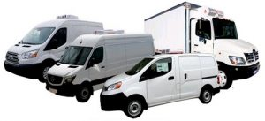 Refrigerated delivery solutions by ATC. From compact vans to high roof, extended wheelbase or straight trucks, Advanced Temperature Control has a solution for your delivery needs.