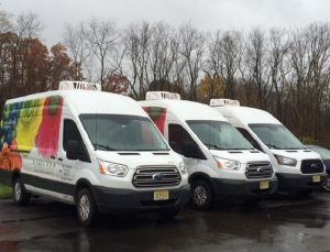 Refrigerated delivery for Delaware Valley Floral utilizes ATC's proven Truck Refrigeration systems.