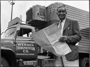 Frederick McKinley Jones is the inventor of the refrigeration unit. He invented the first portable air-cooling unit, also referred to as the refrigeration unit. With his innovations, mobile refrigeration was improved for the long distance transport of medical supplies, food, and other perishable goods