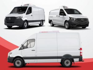 ATC Rooftop Refrigerated solutions for the Mercedes Benz Sprinter and Metris