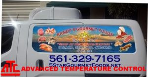 Delivery of the finest quality Meats, Seafood, Poultry and Pastas made possible with ATC's Refrigerated trucks.