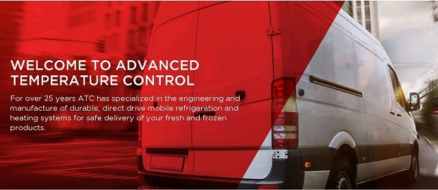 Direct drive truck refrigeration systems. For over 25 years, ATC has built a reputation on manufacturing direct drive truck and van refrigeration systems. We are proud to offer eco friendly, efficient and cost effective systems to refrigerate our vehicles. The Reefers are powered by the vehicle engine as opposed to systems that use additional diesel engines to power the units. It is our priority to continuously update and improve our line of direct drive truck refrigeration products to meet the requirements of today's competitive markets.