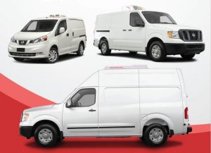 ATC Rooftop Refrigerated solutions for the Nissan NV.