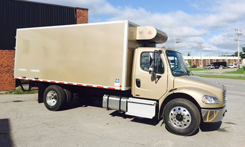 Advanced Temperature Control's Nose Mount truck refrigeration systems are designed for medium to large boxed trucks and trailers to support a variety of urban delivery applications.