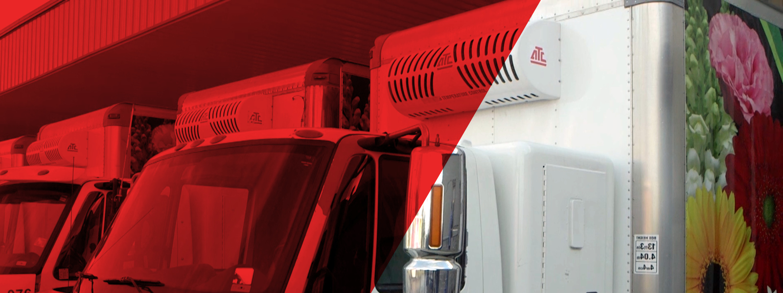 Nose mount systems designed for medium to large boxed trucks and trailers to support a variety of urban delivery applications with optional nose mounted electric standby.