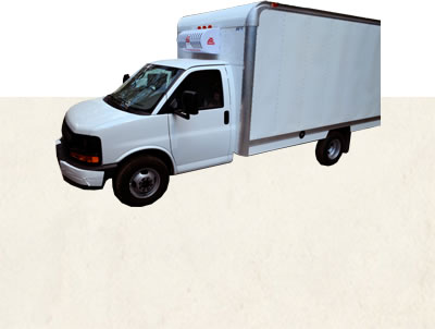 The ATC14 is a nose mounted system designed to refrigerate 12'-14' insulated truck bodies with an optional electric standby.