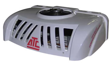 The ATC14 rooftop mounted condenser with ABS (UV) Protected covers