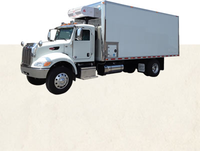 The ATC20 a nose mounted refrigeration system that features a high capacity 3 fan evaporator designed for 18'-22' truck bodies.