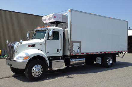 Truck Refrigeration solutions designed for medium to large boxed trucks and trailers to support a variety of urban delivery applications with optional nose mounted electric standby.